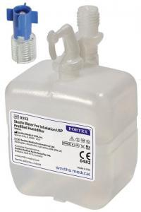 Recipient cu apa distilata si adaptor pentru oxigenator Portex