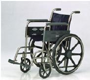 Scaun cu rotile pacienti din otel inoxidabil Mak