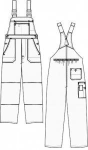 Bretele pantaloni