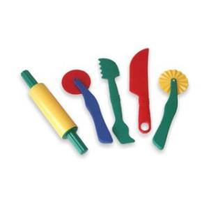 Set de accesorii pentru modelaj cu plastelina - Miniland Education
