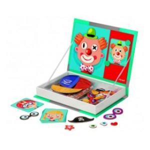 Carte puzzle magnetic - Fete-fete - Janod