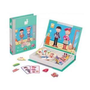 Carte puzzle magnetic - Imbraca-ne frumos - Janod