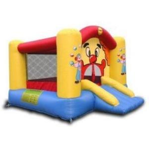Spatiu Gonflabil Clown cu Tobogan - Happy Hop
