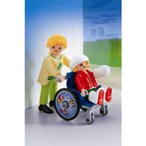 Copil In Scaun Cu Rotile - Playmobil
