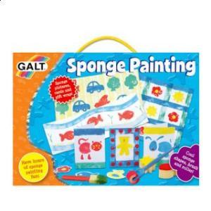 Sponge Painting, Forme din burete pentru pictat - Galt