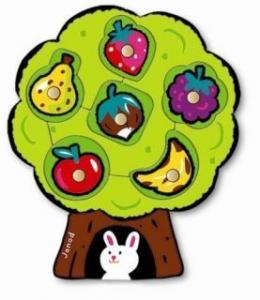 Puzzle fructe