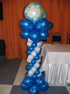 Stalpi baloane nunta