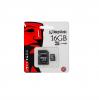 Card memorie micro sdhc class 4 kingston 16gb cu