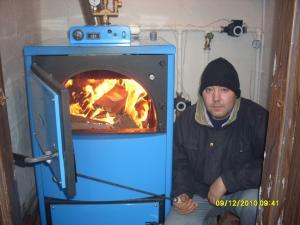 Centrala termica pe lemne gaz