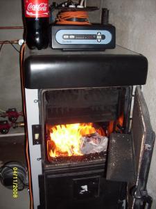 Centrala termica gaz lemn