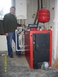 Centrala termica lemne viadrus
