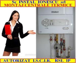 Instalator montaj centrale termice