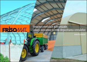 HALA SEMIROTUNDA PENTRU AGRICULTURA - OMEGA PLUS