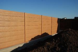 Gard placi de beton