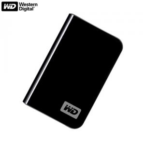 HDD extern Western Digital WDBAAA2500ABK  250 GB  USB 2  Black