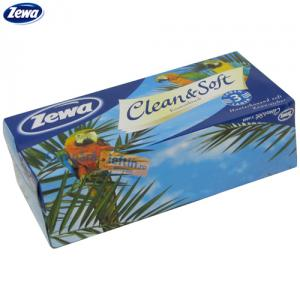 Servetele faciale 3 straturi Zewa Clean & Soft 90 buc