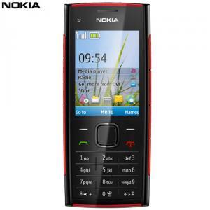 Telefon mobil Nokia X2 Black-Red
