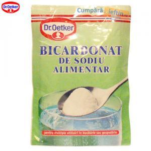 Bicarbonat de sodiu alimentar Dr Oetker 50 gr