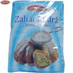 Zahar pudra cu aroma de vanilie Darling 5buc x 80 gr