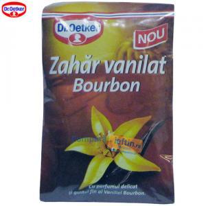 Zahar vanilat Bourbon Dr. Oetker 10buc x 10 gr
