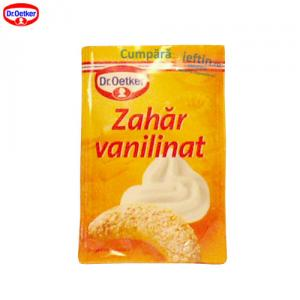 Zahar vanilinat Dr Oetker 20buc x 8 gr