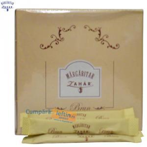 Zahar brun stick Margaritar 200 buc x 5 gr