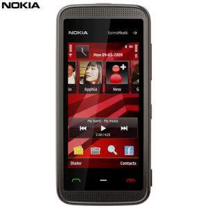 Telefon mobil Nokia 5530 XpressMusic Black-Red