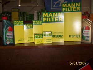 Filtre filtre ulei auto