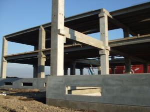 Hala industriala beton