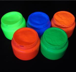 Vopsea fluorescenta reactiva UV