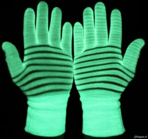 Manusi luminoase glow in the dark