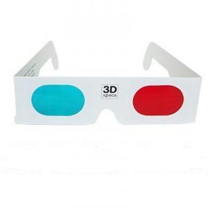Ochelari 3D carton red cyan