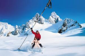 Revelion 2010 ski austria