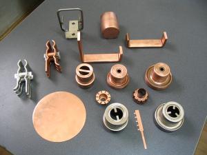 Contacte si ansamble pt componente ale produselor sistemului energetic