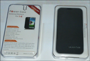 Carcasa cu baterie incorporata pentru SAMSUNG Galaxy S4
