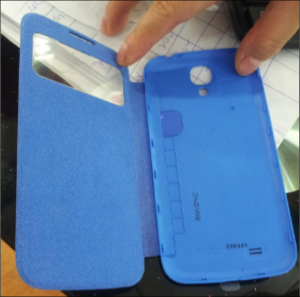 Flip cover pentru SAMSUNG Galaxy S4