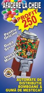 Distribuitoare automate de bomboane