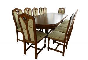 Masa si 12 scaune
