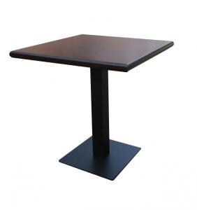 Masa cu picior metalic
