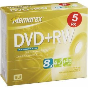 DVD+RW Memorex
