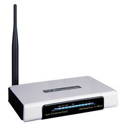 Router wireless 4 porturi 108mbps