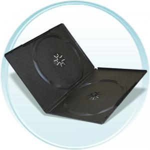 Carcasa 2 dvd black slim
