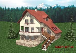 Proiecte case in panta