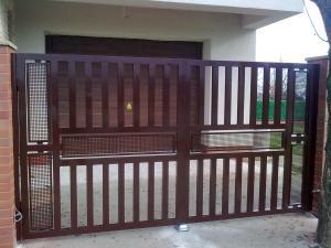 Garduri din aluminiu