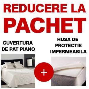Cuvertura de pat Piano 280/270 + husa protectie saltea