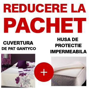 Cuvertura de pat Gantyco 250/270 + husa protectie saltea
