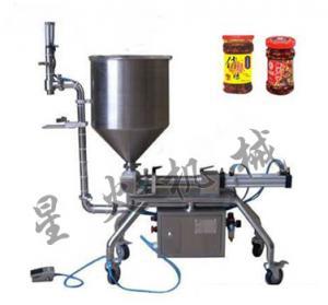 Semi-automatic Chili Sauce Filling Machine