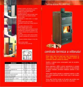 Centrala termica lemne peleti