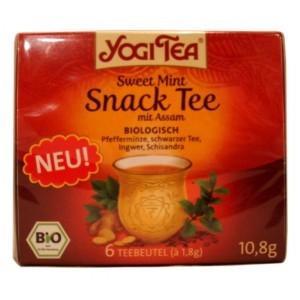 MINI-PACK Ceai BIO aperitiv Menta dulce & Assam Yogi Tea® 10,8 g