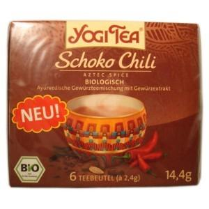 MINI-PACK Ceai Bio CHOCO CHILI Yogi Tea 14,4 g
